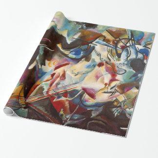 Papel De Presente Pintura das canvas de arte abstracta de Kandinsky