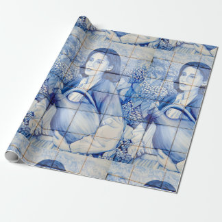 Papel De Presente Pintura mural de Azulejo