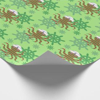 Papel De Presente Polvo do marinheiro do Natal