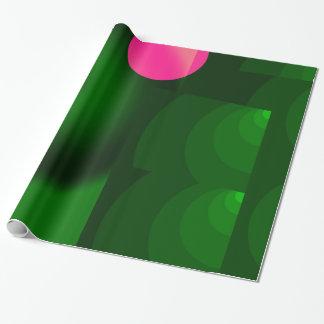 Papel De Presente ponto cor-de-rosa
