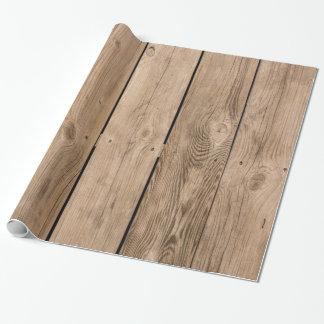 Papel De Presente Pranchas de madeira III