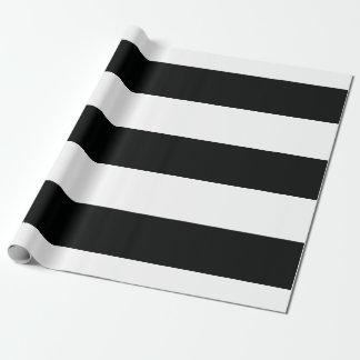 Papel De Presente (Preto & branco | horizontal) customizável