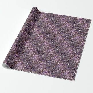 Papel De Presente quartzo roxo
