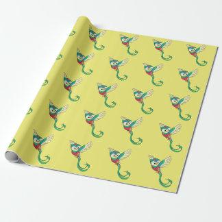 Papel De Presente Quetzal colorido!
