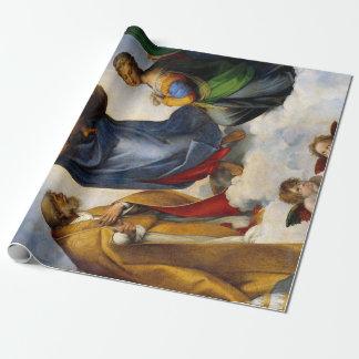 Papel De Presente Raphael Sistine Madonna