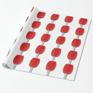 Papel De Presente Raquete do pong do sibilo