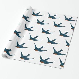 Papel De Presente Rebanho dos Bluebirds