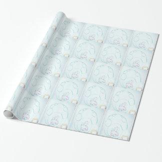Papel De Presente Rede de um Sengaku knotty