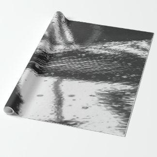 Papel De Presente Superfície molhada
