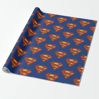 Papel De Presente Superman da história em quadrinhos   da C.C. -