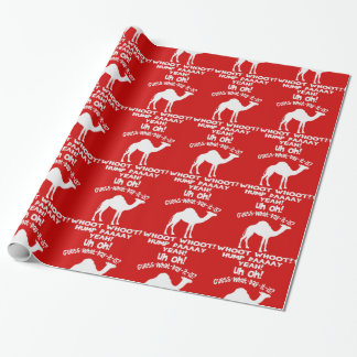 Papel De Presente Suposição do camelo do dia de corcunda que dia é