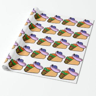Papel De Presente Taco