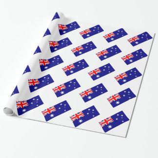 Papel De Presente Teste padrão australiano Union Jack da bandeira