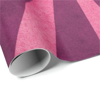Papel De Presente Teste padrão cor-de-rosa rústico de Starburst do