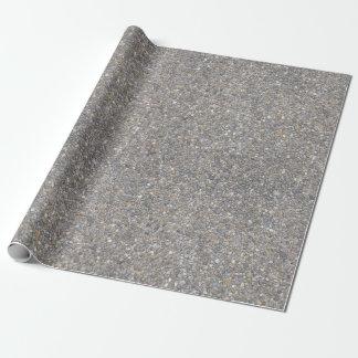 Papel De Presente Textura agregada de pedra concreta da rocha