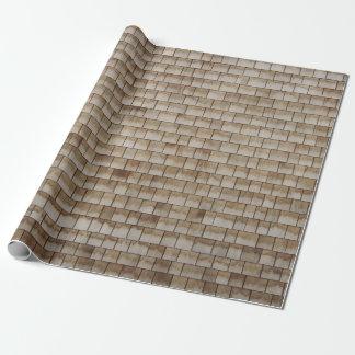 Papel De Presente textura de madeira bege da parede do grunge