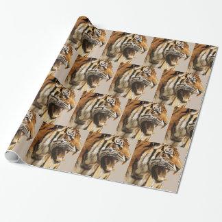 Papel De Presente Tigre magnífico