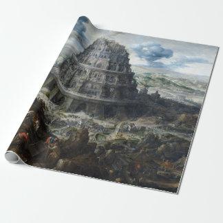 Papel De Presente Torre de Marten camionete Valckenborch de Babel