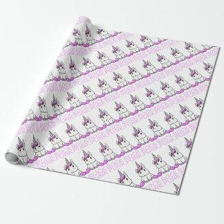 Papel De Presente unicorn10