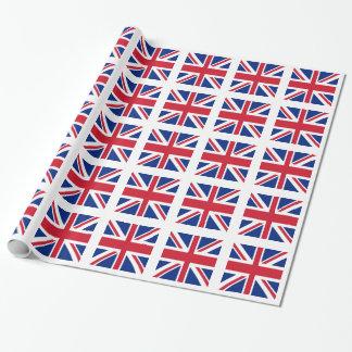 Papel De Presente Union Jack - bandeira do Reino Unido