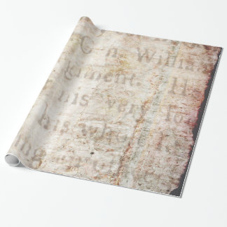 Papel De Presente Vazio 1700 do modelo do papel de fundo do texto do