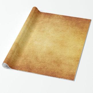 Papel De Presente Vazio envelhecido vintage do modelo do papel de
