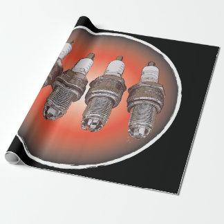 Papel De Presente Velas de ignição do motor