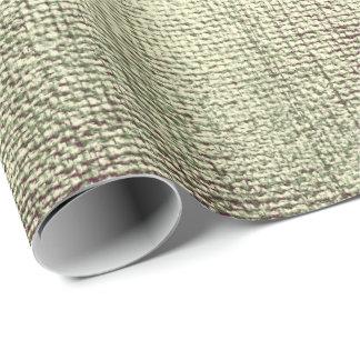 Papel De Presente Verde composição metálica Vip da escova da hortelã