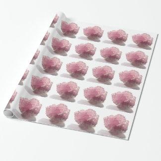 Papel De Presente Viajantes da felicidade de quartzo cor-de-rosa