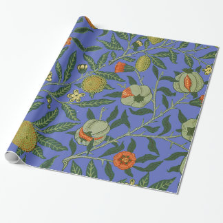 Papel De Presente Vintage William Morris botânico