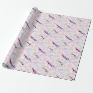 Papel De Presente watercolorfeathers