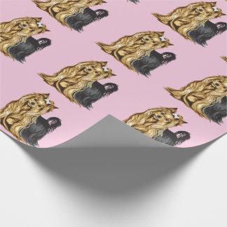 Papel De Presente yorkshire terrier