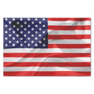 Papel De Seda A bandeira dos Estados Unidos da América
