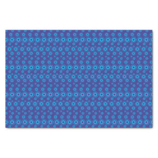 Papel De Seda A bolha gráfica pontilha o azul de |