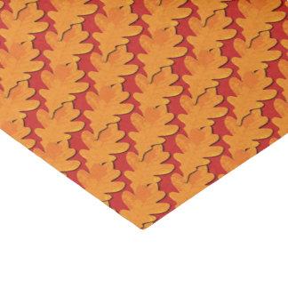 Papel De Seda A queda colore a folha do carvalho
