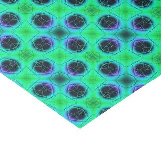 Papel De Seda Abstrato geométrico azul roxo verde