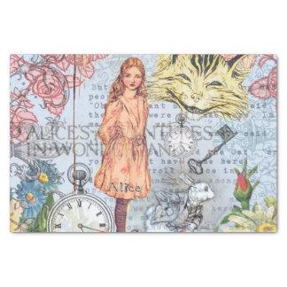 Papel De Seda Alice no país das maravilhas