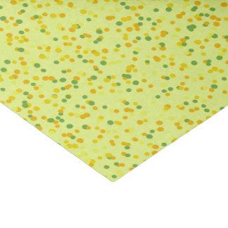 Papel De Seda Amarelo dos confetes
