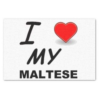 Papel De Seda amor maltês