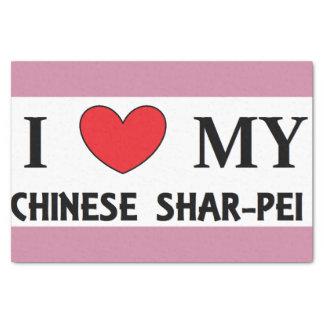 Papel De Seda amor shar chinês