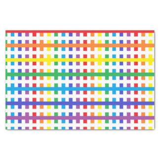 Papel De Seda Arco-íris abstrato e branco