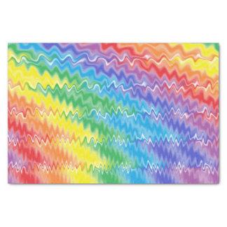 Papel De Seda Arco-íris da lava