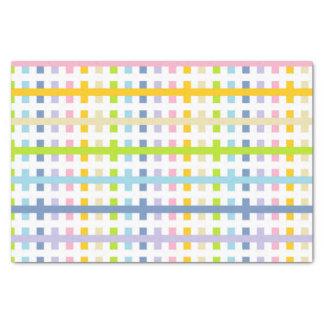 Papel De Seda Arco-íris Pastel abstrato e branco