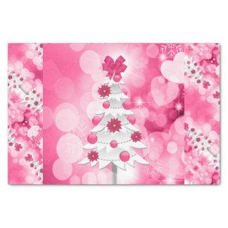 Papel De Seda Árvore cor-de-rosa do feriado para um tema