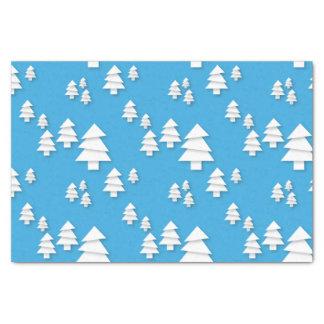 Papel De Seda Árvores de Natal triangulares