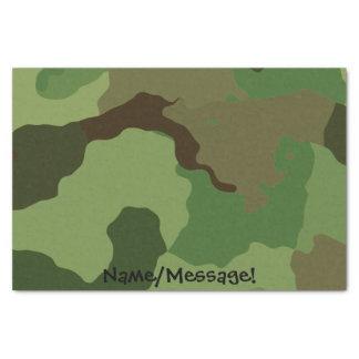 Papel De Seda As forças armadas tradicionais camuflam
