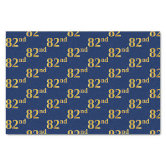 Papel De Seda Azul, evento do ouro 82nd do falso