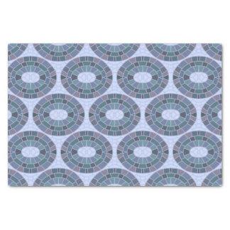 Papel De Seda Azulejos de mosaico ovais