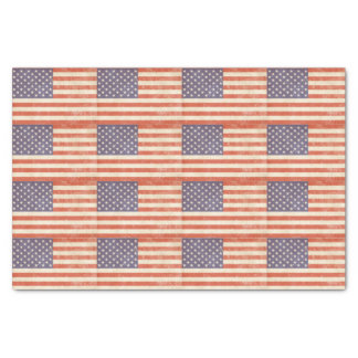 Papel De Seda Bandeira americana