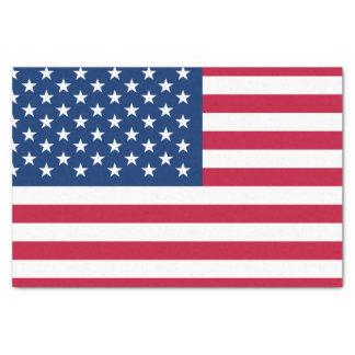 Papel De Seda Bandeira americana clássica
